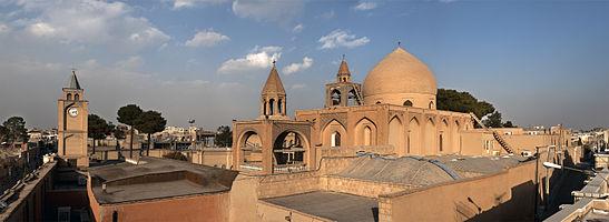 Vank Cathedral, Armenian quarter, Isfahan, Iran.