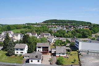 Montabaur Place in Rhineland-Palatinate, Germany