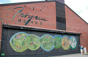 Alf Prøysen -  Prøysenhuset at Rudshøgda in Ringsaker