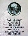 20120827105DR Dresden Trinitatisfriedhof Grab Dr Carl Gustav Carus.jpg