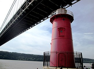 2014 Little Red Lighthouse and George Washington Bridge landscape.jpg