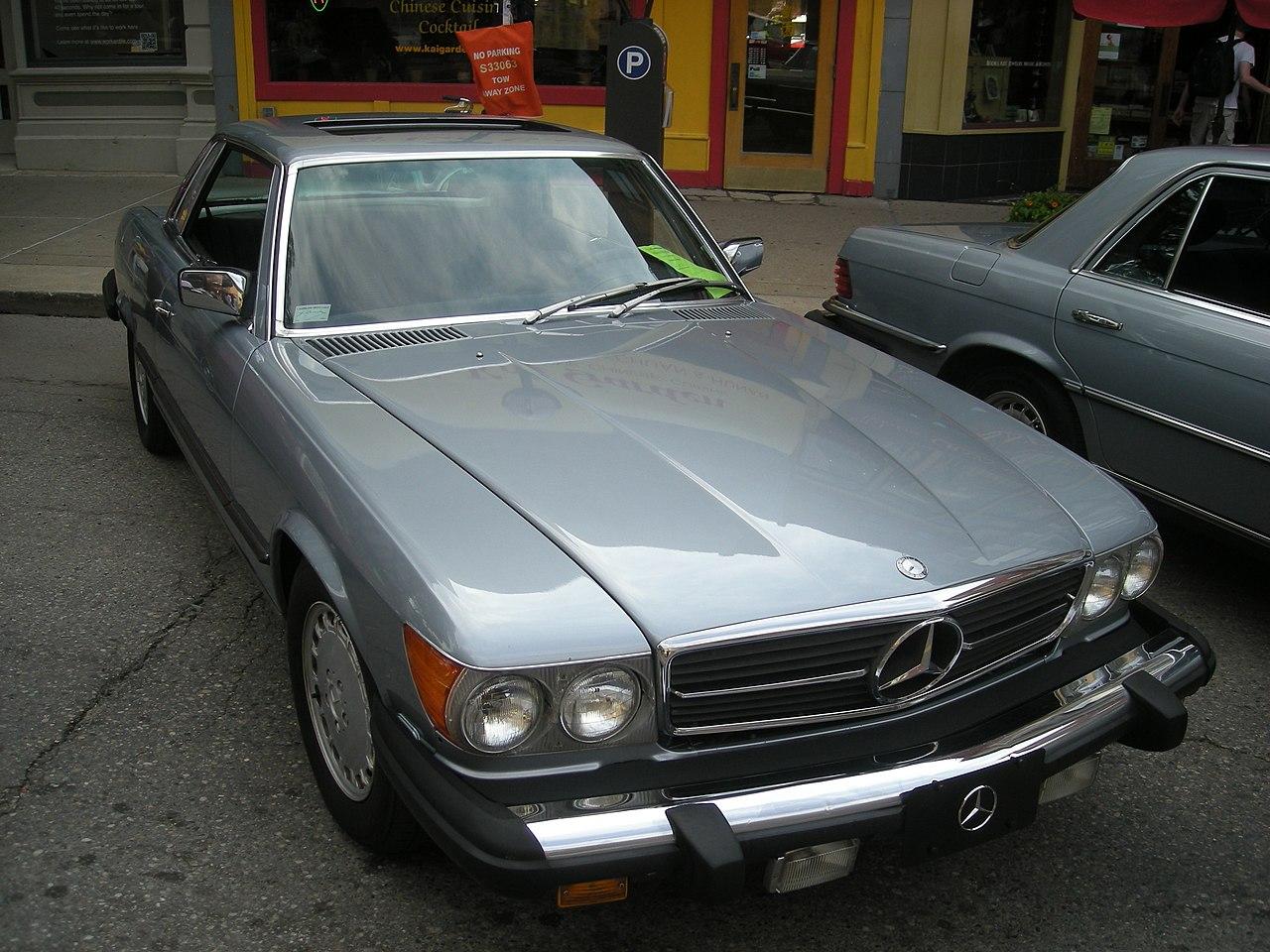 File 2014 rolling sculpture car show 54 1980 mercedes benz 450slc jpg wikimedia commons - Mercedes car show ...