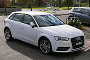 2015 Audi A3 (8V MY15) Attraction 5-door hatchback (2015-06-08) 01.jpg