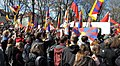 2016 Czech Demonstration Against Communist party China and its dictator in Prague with National Flags of TAIWAN & Tibet 反中示威與圖博&臺灣國旗在捷克.jpg