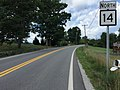 2017-07-24 12 11 58 View north along West Virginia State Route 14 (Parkersburg Road) at Hospital Drive in Barr, Roane County, West Virginia.jpg