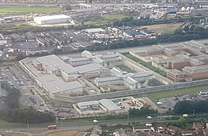 HM Prison Isis - Image: 2017 Thamesmead aerial view 02 (cropped)