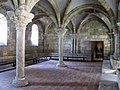 2017 The Cloisters Pontaut Chapter House from south.jpg