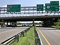 2019-06-03 11 58 43 View south along the inner loop of the Capital Beltway (Interstate 95 and Interstate 495) at Exit 25A (U.S. Route 1 NORTH-Baltimore Avenue, Laurel) in College Park, Prince George's County, Maryland.jpg