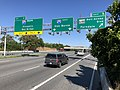 2019-06-14 16 42 29 View east along the Outer Loop of the Baltimore Beltway (Interstate 695) at Exit 5 (Maryland State Route 648-Baltimore-Annapolis Boulevard, Ferndale) and Exit 4 (Interstate 97 SOUTH, Annapolis, Bay Bridge) in Linthicum, Maryland.jpg