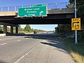 2019-09-25 16 21 55 View east along Maryland State Route 32 (Patuxent Freeway) at Exit 14A (Broken Land Parkway NORTH) in Columbia, Howard County, Maryland.jpg