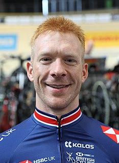 Ed Clancy English racing cyclist (born 1985)