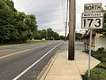 2020-06-22 17 53 56 View north along Maryland State Route 173 (Fort Smallwood Road) at Valley Road and Duvalt Highway on the edge of Riviera Beach and Pasadena in Anne Arundel County, Maryland.jpg