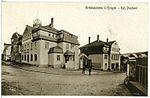 20380-Grünhainichen-1917-Poststraße mit königlichem Postamt-Brück & Sohn Kunstverlag.jpg