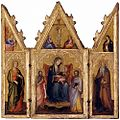 20 Andrea di Bartolo Triptych Madonna with Child and Saints Lindenau, Altenburg.jpg