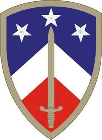 Sustainment Brigades in the United States Army - Image: 230Sustain Bde SSI
