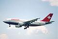 25bt - Swissair Airbus A310-325ET; HB-IPN@ZRH;17.05.1998 (5888186490).jpg