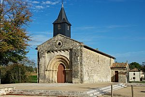 Maisonnay - The church of Our Lady, in Maisonnay