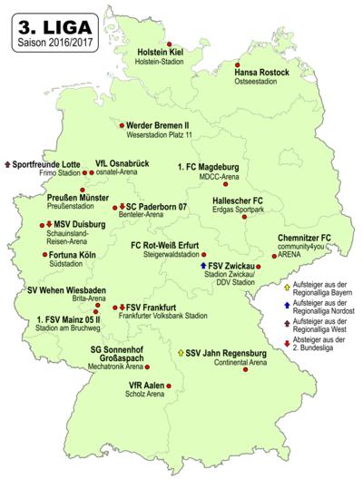 deutschland dritte liga