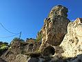 308 Ruïnes vora la roca Foradada, al poble de Foradada.JPG