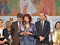31.V Dni Wina Jaslo-burmistrz Jasla Maria Kurowska.jpg