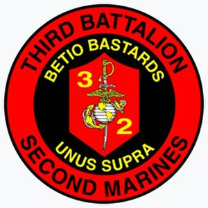 3rd Battalion, 2nd Marines - 3/2 Insignia