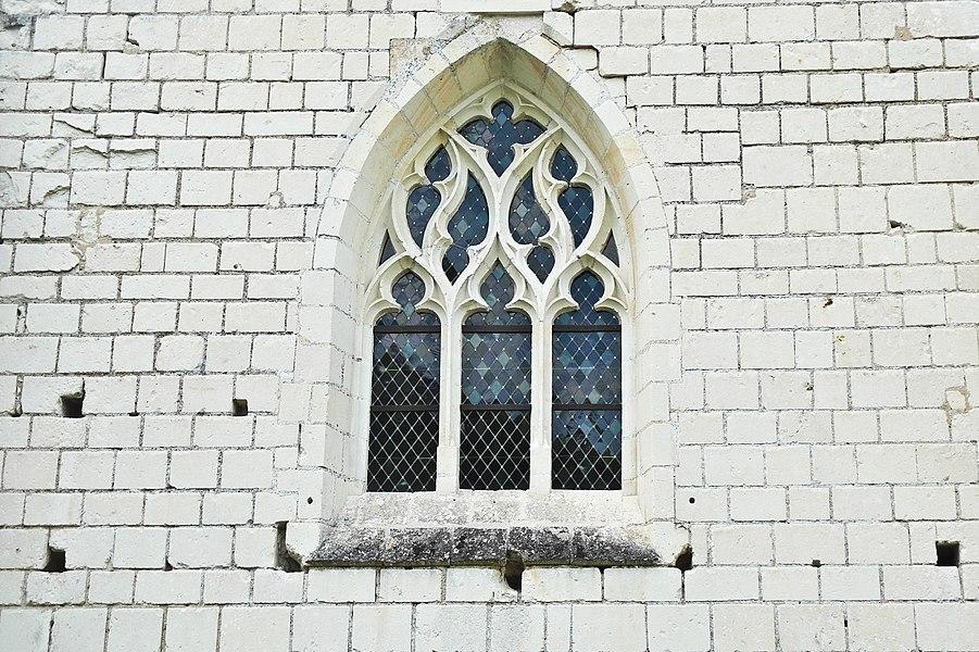 Église Notre-Dame de Rigny-Ussé, détail