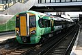 377 708 at East Croydon with a service to Milton Keynes Central.jpg
