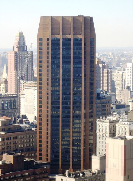 The IEEE corporate office is on the 17th floor of 3 Park Avenue in New York City 3 Park Avenue.JPG