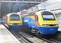 43059 and 43055 at St Pancras (17004942578).jpg