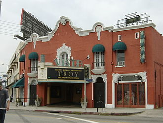 East Hollywood, Los Angeles - Vista Theatre in East Hollywood