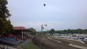 Orange County Fair Speedway - Image: 4 OCFS balloon
