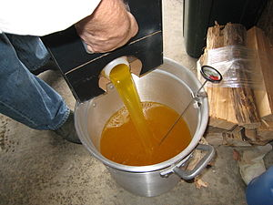 Peanut oil - 4 gallons of peanut oil