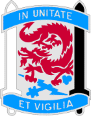 501st Military Intelligence Brigade (United States) - Image: 501 MI BDE DUI