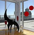 6' Lil'Swinger stabile by Julie Frith in San Francisco, CA..JPG