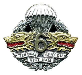 Vietnamese National Army - TDND 6 emblem.