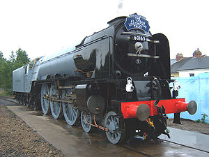 A1 Steam Locomotive Trust - 60163 Tornado, the brand new locomotive built by the Trust