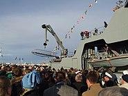 7 Arrival of Thor - Icelandic Coast Guard 2011-10-27 Reykjavik
