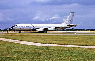 921st Expeditionary Air Refueling Squadron - KC-135A in SAC markings of the 1960s