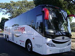 AAT Kings - Bonluck coach in Botany in August 2014