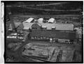 AERIAL VIEW OF LUMBER MILL - Deposit Lumber Company Mill, Borden Street, Deposit, Broome County, NY HAER NY,4-DEPO,6-2.tif