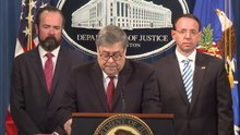 File:AG Barr on Release of Report on Investigation into Russian Interference...webm