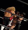 AJ, Natalya and Aksana - Double Team.jpg