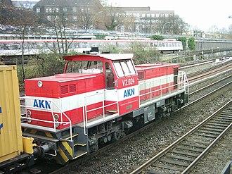 MaK DE 1002 - AKN Eisenbahn MaK DE 1002