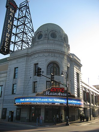 Mainstreet Theater - Image: AMC Main Street Front
