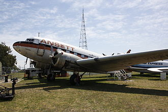 Australian National Aviation Museum - Ansett Douglas DC-3