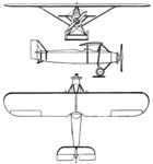 ANBO II 3-view Les Ailes December 23,1928.png