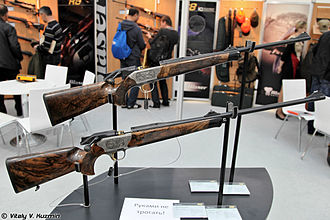8×68mm S - A Blaser R8 Custom Grade II straight-pull bolt action hunting rifle chambered in 8×68mm S