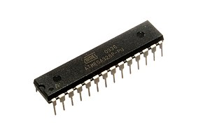 ATmega328 - ATmega328P in a 28-pin dual inline package (DIP)