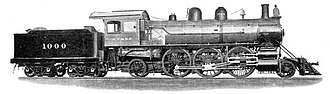 Scott Special - Image: ATSF 1000, 1901 Baldwin