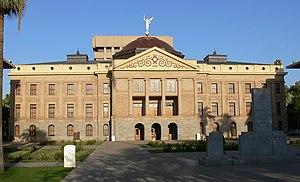 U.S. Route 80 in Arizona - Arizona State Capitol in Phoenix